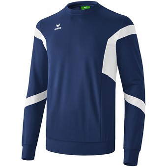 Picture of Erima Classic Team Sweatshirt - New Navy / Wit