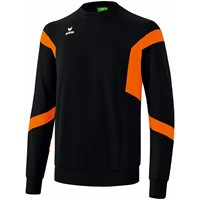 Erima Classic Team Sweatshirt Kinderen - Zwart / Oranje