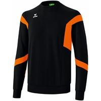 Erima Classic Team Sweatshirt - Zwart / Oranje