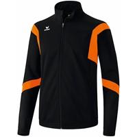Erima Classic Team Trainingsjack - Zwart / Oranje