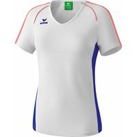 Erima Masters T-shirt Dames - Wit / Mazarine Blauw