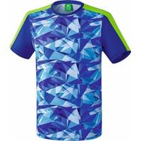 Erima Masters T-shirt - Mazarine Blauw / Green Gecco