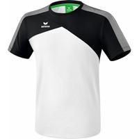 Erima Premium One 2.0 T-shirt - Wit / Zwart
