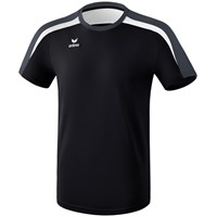 Erima Liga 2.0 T-shirt - Zwart / Wit / Donkergrijs