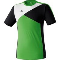 Erima Premium One T-shirt - Green / Zwart / Wit