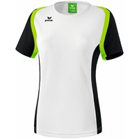 Erima Razor 2.0 T-Shirt Dames - Wit / Zwart / Green Gecco