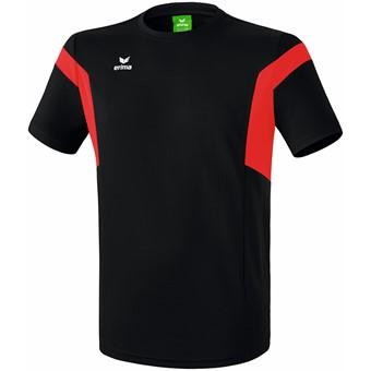 Picture of Erima Classic Team T-Shirt - Zwart / Rood
