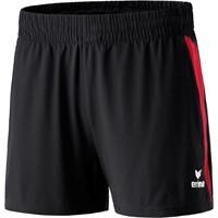 Erima Premium One Short Dames - Zwart / Rood