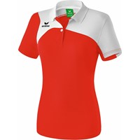Erima Club 1900 2.0 Polo Dames - Rood / Wit