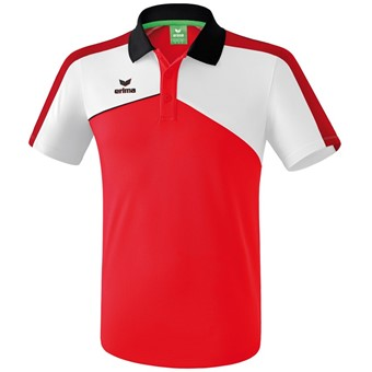 Picture of Erima Premium One 2.0 Polo - Rood / Wit / Zwart