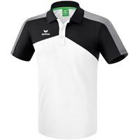 Erima Premium One 2.0 Polo - Wit / Zwart