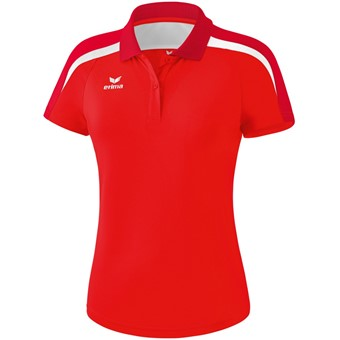 Picture of Erima Liga 2.0 Polo Dames - Rood / Donkerrood / Wit