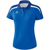 Erima Liga 2.0 Polo Dames - New Royal / True Blue / Wit