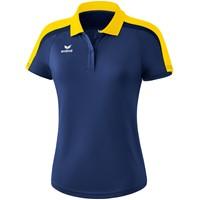 Erima Liga 2.0 Polo Dames - New Navy / Geel / Donker Navy