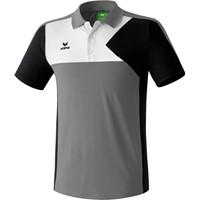 Erima Premium One Polo - Graniet / Zwart / Wit