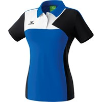 Erima Premium One Polo Dames - Royal / Zwart / Wit
