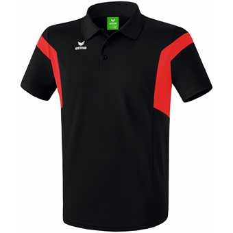 Picture of Erima Classic Team Polo - Zwart / Rood