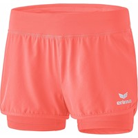 Erima Masters 2 In 1 Short Dames - Hot Coral