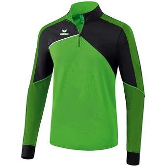 Picture of Erima Premium One 2.0 Trainingstrui - Green / Zwart / Wit