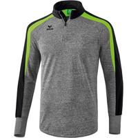 Erima Liga 2.0 Trainingstrui Kinderen - Grey Melange / Zwart / Green Gecco