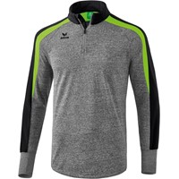 Erima Liga 2.0 Trainingstrui - Grey Melange / Zwart / Green Gecco
