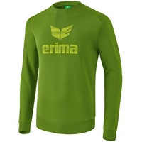Erima Essential Sweatshirt Kinderen - Twist Of Lime / Lime Pop