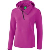 Erima Essential Sweatshirt Met Capuchon Dames - Fuchsia / Purple Potion