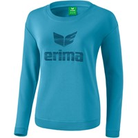 Erima Essential Sweatshirt Dames - Niagara / Ink Blue