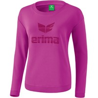 Erima Essential Sweatshirt Dames - Fuchsia / Purple Potion