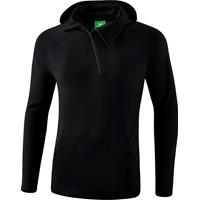 Erima Essential Sweatshirt Met Capuchon - Zwart / Grijs