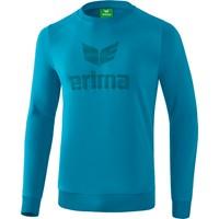 Erima Essential Sweatshirt Kinderen - Oriental Blue / Colonial Blue