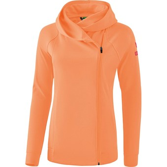 Picture of Erima Essential Sweatjack Met Capuchon Kinderen - Peach / Love Rose