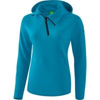 Erima Essential Sweatshirt Met Capuchon Dames - Oriental Blue / Colonial Blue
