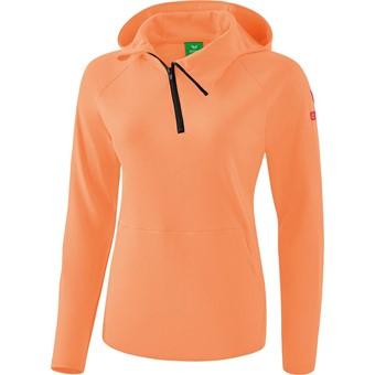 Picture of Erima Essential Sweatshirt Met Capuchon Kinderen - Peach / Love Rose