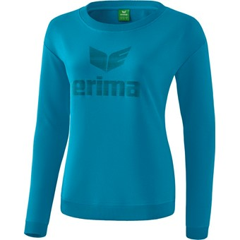 Picture of Erima Essential Sweatshirt Dames - Oriental Blue / Colonial Blue