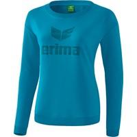 Erima Essential Sweatshirt Dames - Oriental Blue / Colonial Blue