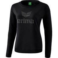 Erima Essential Sweatshirt Dames - Zwart / Grijs