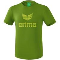 Erima Essential T-shirt Kinderen - Twist Of Lime / Lime Pop