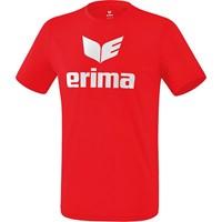 Erima Functioneel Promo T-shirt Kinderen - Rood