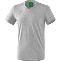 Erima Style T-shirt - Licht Grey Melange