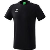 Erima Essential 5-C T-shirt Kinderen - Zwart / Wit