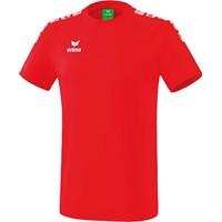 Erima Essential 5-C T-shirt Kinderen - Rood / Wit