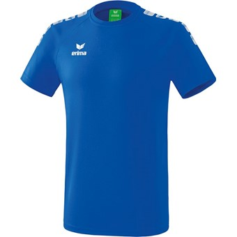 Picture of Erima Essential 5-C T-shirt - New Royal / Wit