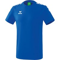 Erima Essential 5-C T-shirt - New Royal / Wit