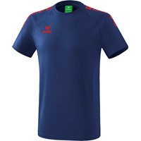 Erima Essential 5-C T-shirt - New Navy / Rood