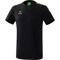 Erima Essential 5-C T-shirt - Zwart / Green Gecco