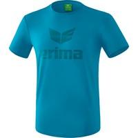 Erima Essential T-shirt Kinderen - Oriental Blue / Colonial Blue