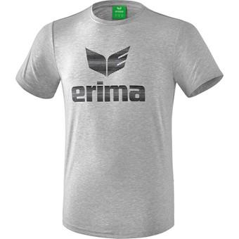 Picture of Erima Essential T-shirt - Licht Grey Melange / Zwart