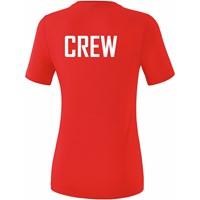 Erima Teamsport T-shirt Dames - Rood