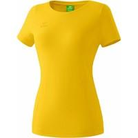 Erima Style T-Shirt Dames - Geel